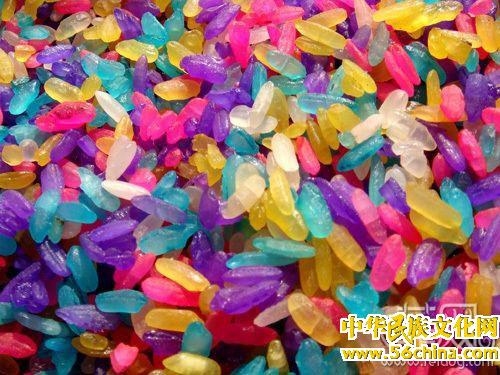 最具民族特色的五色花米饭你敢吃吗