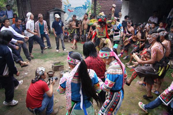 一个古老而神奇的节日:大理七宣彝族哑巴节
