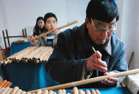玉屏箫笛制作技艺